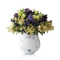 Royal Copenhagen - Blue Plain Vase