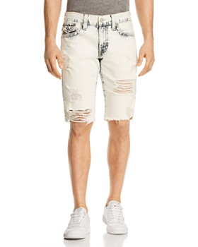 e57becad3a7a True Religion - Geno Slim Fit Shorts in Worn Cloudfall ...
