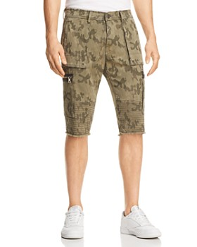 True Religion - Touring Moto Regular Fit Shorts