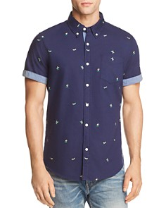 JACHS NY Surfer Regular Fit Button-Down Shirt - 100% Exclusive - Bloomingdale's_0