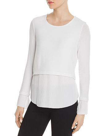 Generation Love - Denise Layered-Look Pleated Top