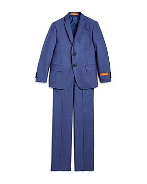 Tallia Boys Neat Suit Jacket  Pants Set  Big Kid