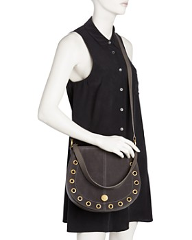 See by Chloé - Kriss Small Leather & Suede Hobo