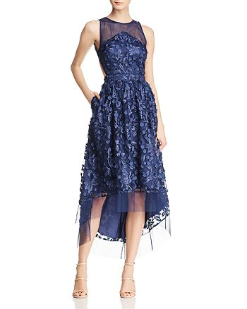 Aidan by Aidan Mattox - Embellished High/Low Dress