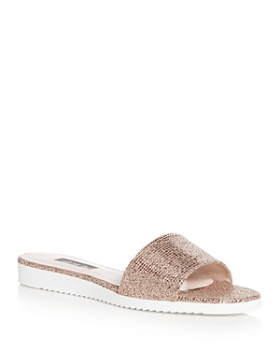SJP by Sarah Jessica Parker - Women's Tropez Glitter Slide Sandals - 100% Exclusive