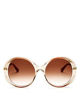 Chloé - Women's Rubie Round Sunglasses, 57mm
