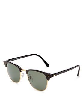 Ray-Ban - Unisex Polarized Classic Clubmaster Sunglasses, 51mm