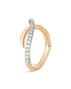 John Hardy 18K Yellow Gold Bamboo Pavé Diamond Ring - Bloomingdale's_0