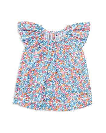 Ralph Lauren - Girls' Poplin Floral Top - Baby