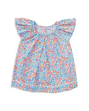 Ralph Lauren Childrenswear Girls' Poplin Floral Top - Baby