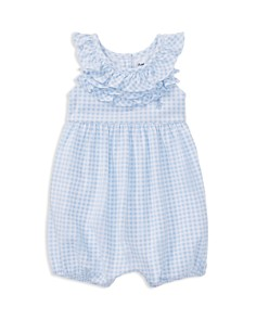 Ralph Lauren Girls' Ruffled Gingham Bubble - Baby - Bloomingdale's_0