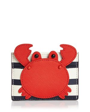 kate spade new york Shore Thing Crab Applique Card Holder 2896097