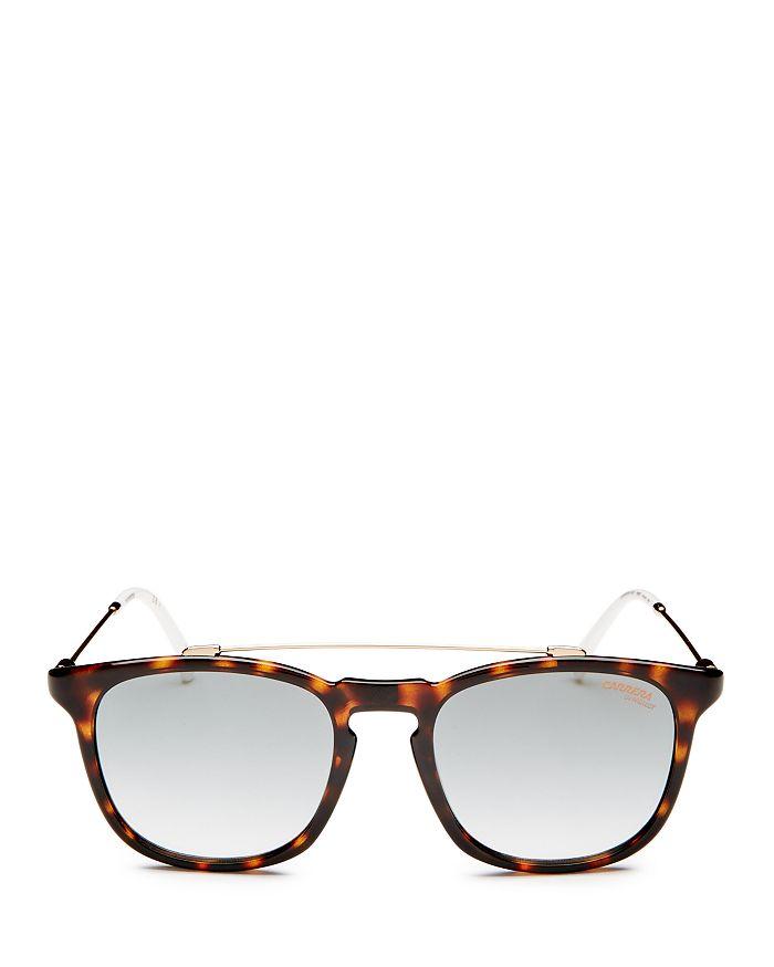 Carrera - Men's Brow Bar Square Sunglasses, 52mm
