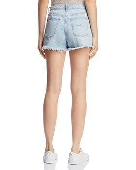Nobody - Skyline Denim Shorts in Flirting