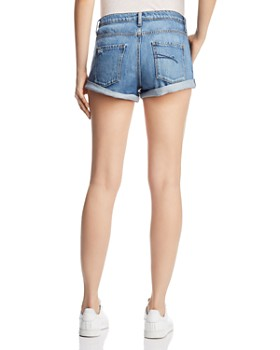 Nobody - Boho Denim Shorts in Sassy