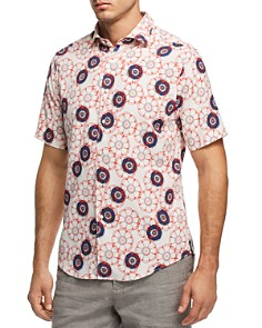 Vilebrequin Floral Print Button-Down Shirt - Bloomingdale's_0
