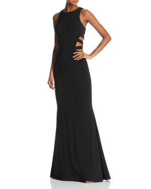 Faviana Couture Strappy Cutout Gown - 100% Exclusive