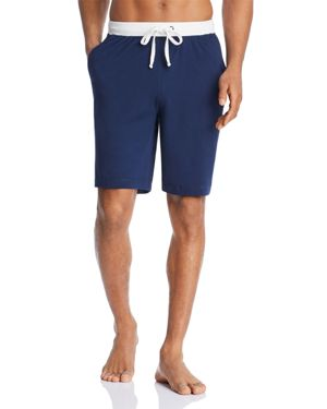 CONTRAST LOUNGE SHORTS