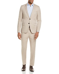 HUGO - Solid Cotton Slim Fit Suit Separates