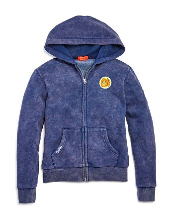 Butter - Girls' Americana Patches Hoodie - Big Kid