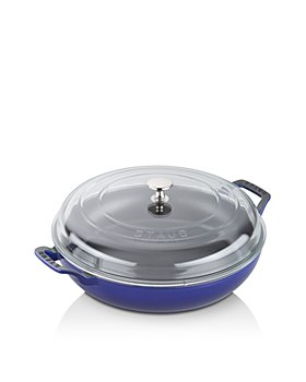 Staub - 3.5-Quart Braiser with Glass Lid