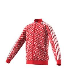 Adidas - Girls' Trefoil Print Jacket - Big Kid