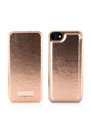 Cedar Mirror Folio Iphone 6/7/8 & Iphone 6/7/8 Plus Case, Gold