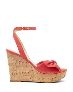 IVANKA TRUMP - Women's Heibo Suede Platform Wedge Sandals