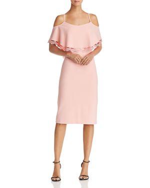 nanette Nanette Lepore Cold-Shoulder Sheath Dress 3041081