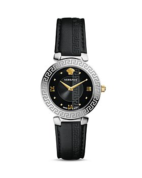 Versace - Daphnis Greca Engraved Watch, 35mm