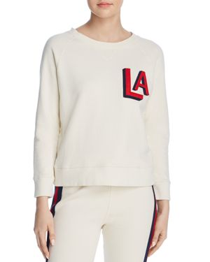 'The Square' Destroyed Graphic Pullover Sweatshirt, Out Of Your League