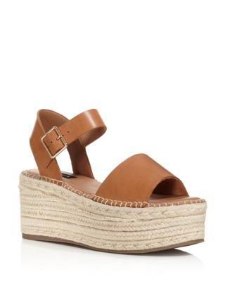 Women's Rowan Leather Espadrille Platform Sandals   100 Percents Exclusive by Aqua