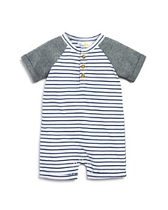 Bloomie's Boys' Henley Romper, Baby - 100% Exclusive - Bloomingdale's_0