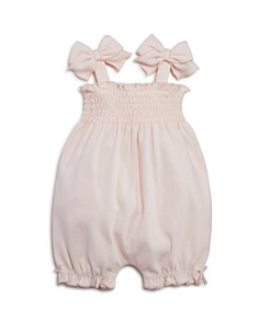 Bloomie's Girls' Smocked Romper, Baby - 100% Exclusive - Bloomingdale's_0