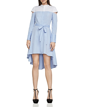 Bcbgmaxazria Leandra Color-Block Shirt Dress
