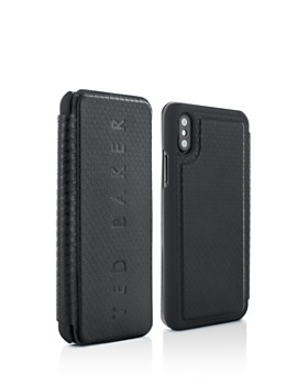 Ted Baker - Bhait Card Slot Folio iPhone X Case