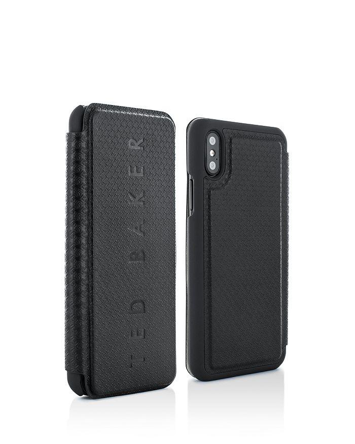 Ted Baker - Bhait Card Slot Folio iPhone X Case