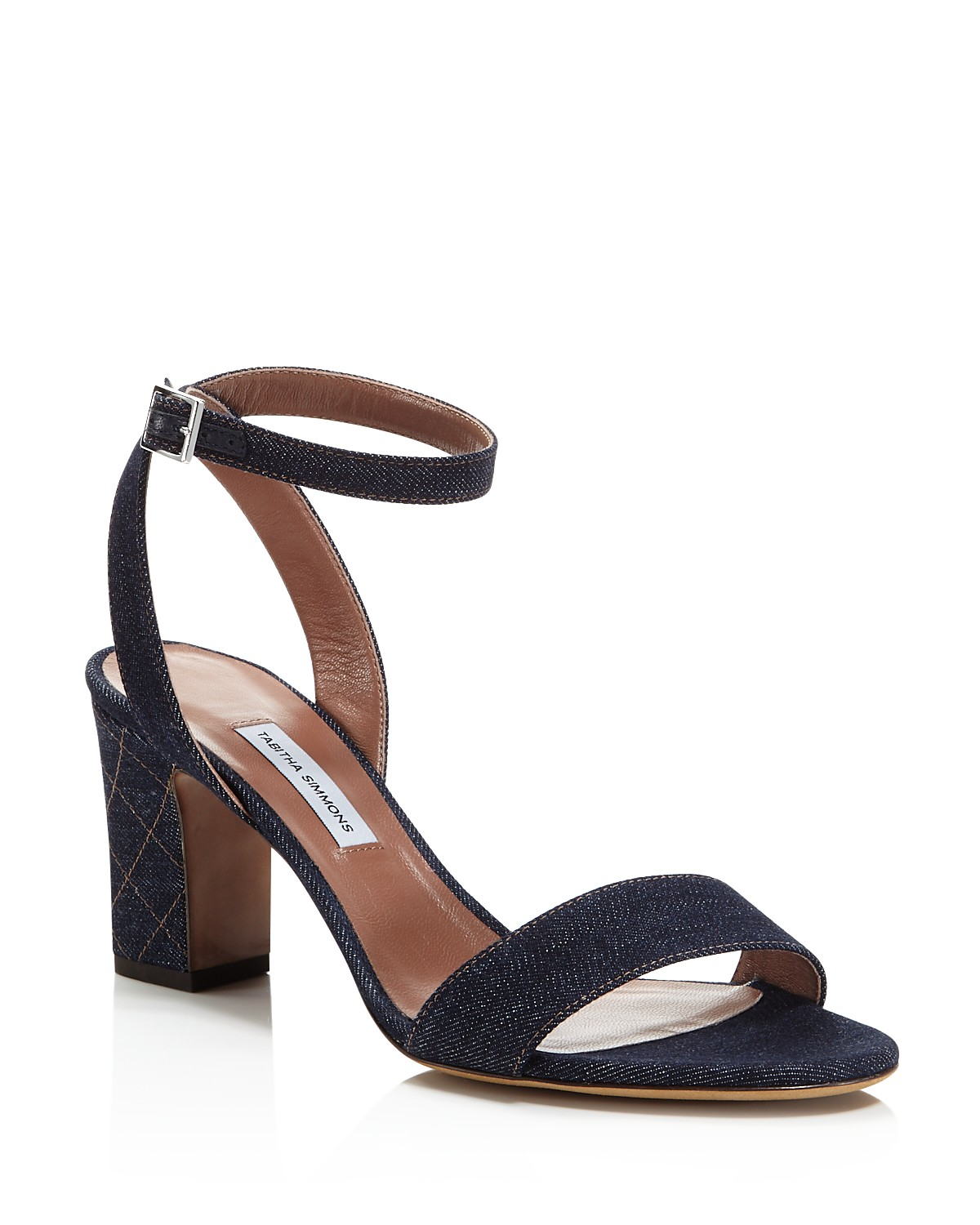 Tabitha Simmons Women's Leticia Denim Ankle Strap High-Heel Sandals - 100% Exclusive HdgY9HFp