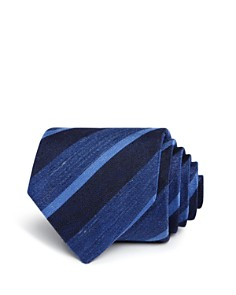 John Varvatos Star USA Heathered Stripe Classic Tie - Bloomingdale's_0