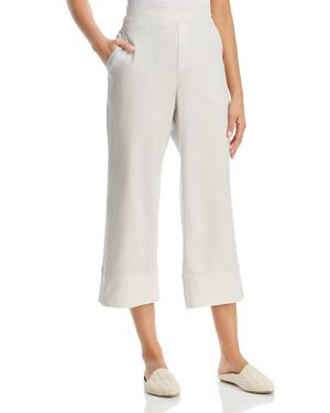 XCVI WIDE-LEG CROP PANTS