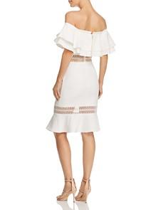 Jarlo - Jazzmyn Off-the-Shoulder Dress - 100% Exclusive