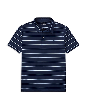 Polo Ralph Lauren Boys Striped Performance Polo  Big Kid