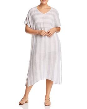 Eileen Fisher Plus - Organic Linen Caftan Dress