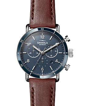 Shinola - Canfield Brown Strap Sport Chronograph, 40mm