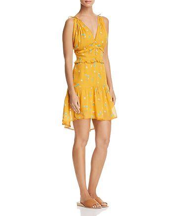 Karina Grimaldi - Ana Ruffled Floral-Print Mini Dress