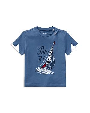 Ralph Lauren Boys Sailboat Graphic Tee  Baby
