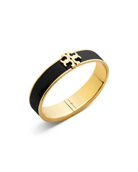 b9491a57bf4e57 Tory Burch - Hinged Logo Enamel Bangle Bracelet ...