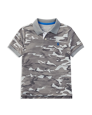 Polo Ralph Lauren Boys CamoPrint Performance Polo  Little Kid