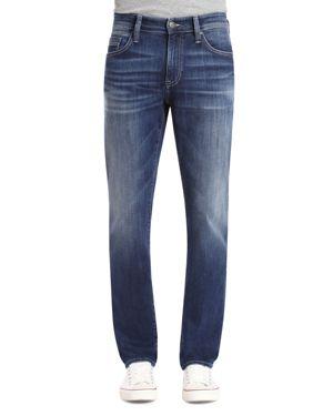 MAVI JEANS Marcus Slim Straight Fit Jeans In Dark Blue in Dark Blue Williamsburg