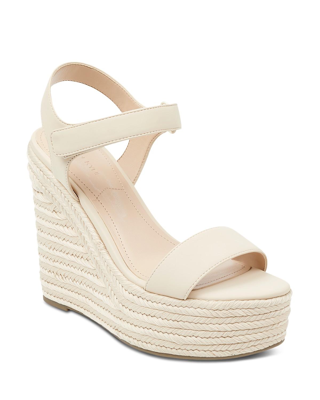Kendall And Kylie Women's Grand Platform Wedge Espadrille Sandals Y6TGVZT